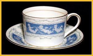 Coalport-Revelry-Flat-Coffee-Cups-amp-Saucers