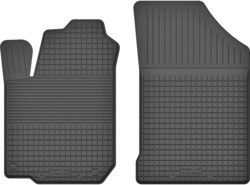 Fußmatten für Opel Agila B 2007-2014 2 Gummi Gummimatten