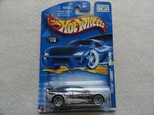 HOT WHEELS 2000 PONTIAC RAGEOUS BLUE #119