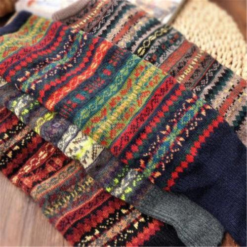 Women/'s Winter Warm Long Boot Socks Knit Crochet Stockings High Knee Leg Warmers