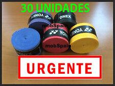30x pack OVERGRIP URGENTE!!! OVERGRIPS YONEX TENIS FRONTENIS PADEL GRIP GRIPS