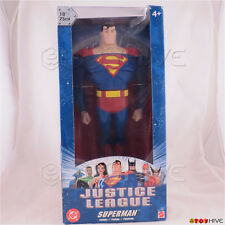 """Justice League 10"""" Superman Action Figure 2003 Mattel B4951"""