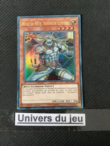 Yu-Gi-Oh Wulf la Bete Seigneur Lumière BLLR-FR039