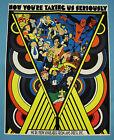 STAN LEE Rare 1973 POSTER Marvelmania Spider-Man X-Men Capt America Conan Hulk