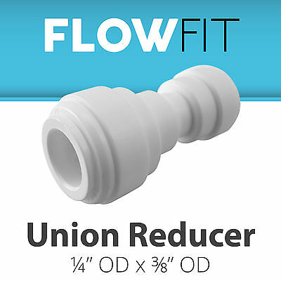 "Ro System Volume Large Punctual Express Water Union Reducer 1/4"" To 3/8"" Fitting Connection Filters Plumbing & Fixtures"