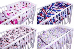 BABY-BEDDING-SET-2-3-5-6-PCS-QUILT-DUVET-PILLOW-CASE-COVER-TO-FIT-120x60-COT