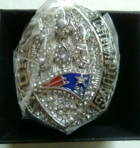 SUPERBOWL-LIII-2018-19-OFFICIAL-NEWENGLAND-PATRIOTS-CHAMPIONSHIP-RING-BRADY-RARE