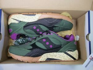 promo code 60a9e bc232 Details about Bodega X Saucony Elite G9 Shadow 6000 Polka Dot Green Black  New Size 12 S70154-1