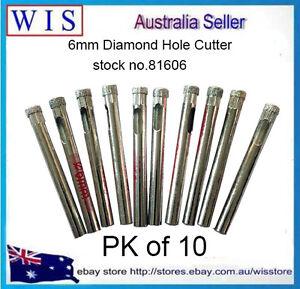 10-PK-6mm-Diamond-Tile-Drill-Bit-for-Glass-Ceramic-Porcelain-Marble-amp-Granite