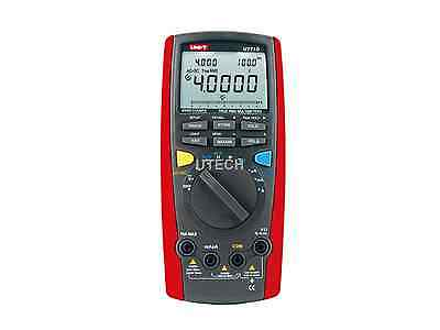 UNI-T UNIT UT71D RMS Digital Multimeter Tester DMM USB Auto Data Log AC DC Power