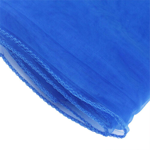 135x135cm Square Organza Tablecloth Dining Overlay Cover Dustproof Wedding Decor