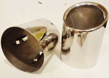 Cadillac ATS 2013 2014 2015 2016 STAINLESS STEEL EXHAUST TIPS!!