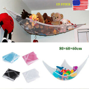1PC Portable Baby Child Bedroom Toy Organiser Storage Bags Large Toy Hammock C Baby