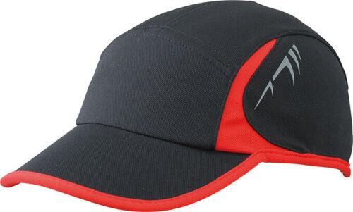 Cap zum Laufen Joggen Sport Fitness reflektierend Kappe Basecap Mütze