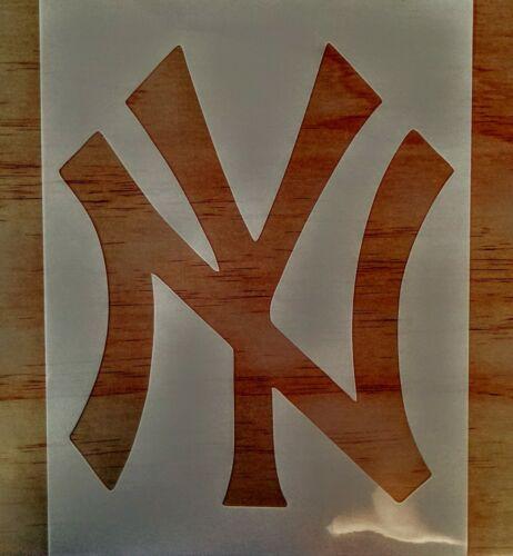 yankees Stencil 9x12//Reusable