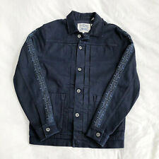 Levi's Made & Crafted Type 2 Japan Denim Trucker Jacket Rigid Indigo Large Poggy
