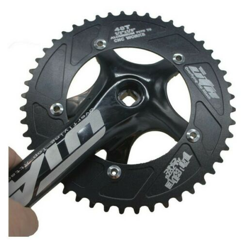 48T Racing OTA Aluminum Crankset Single Speed Track MTB Fixed Gear bike Cranks