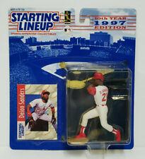 Starting Lineup Baseball Figure Card /& Coin CINCINNATI REDS 1991  ERIC DAVIS