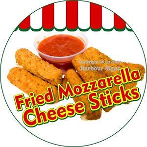 CHEESE STICKS Concession Decal sign fried mozzarella cart trailer sticker