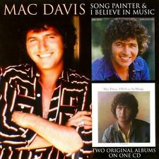 Song Painter/I Believe in Music by Mac Davis (CD, May-2010, T-Bird)