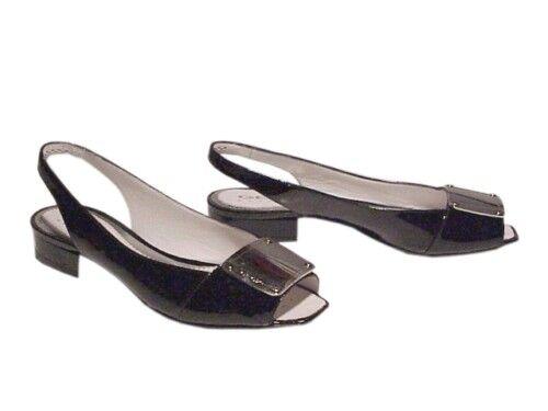 Geox sandali  vernice nera con fibbia design acciaio numero numero numero 36 53ba27