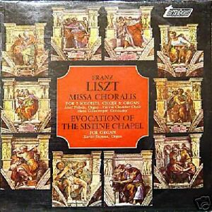 FRANZ-LISZT-Missa-Choralis-For-5-Soloists-Uk-Pre-33-Rpm