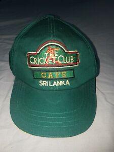 The-Cricket-Club-Cafe-Sri-Lanka-Cap-Preowned-Cond