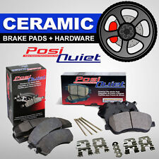 FRONT + REAR Posi Quiet Ceramic Disc Brake Pads + Hardware Kit Mazda CX-5