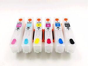 Refillable-Ink-Cartridge-for-Epson-Photo-Printer-XP750-XP850-XP950-24XL-NON-OEM
