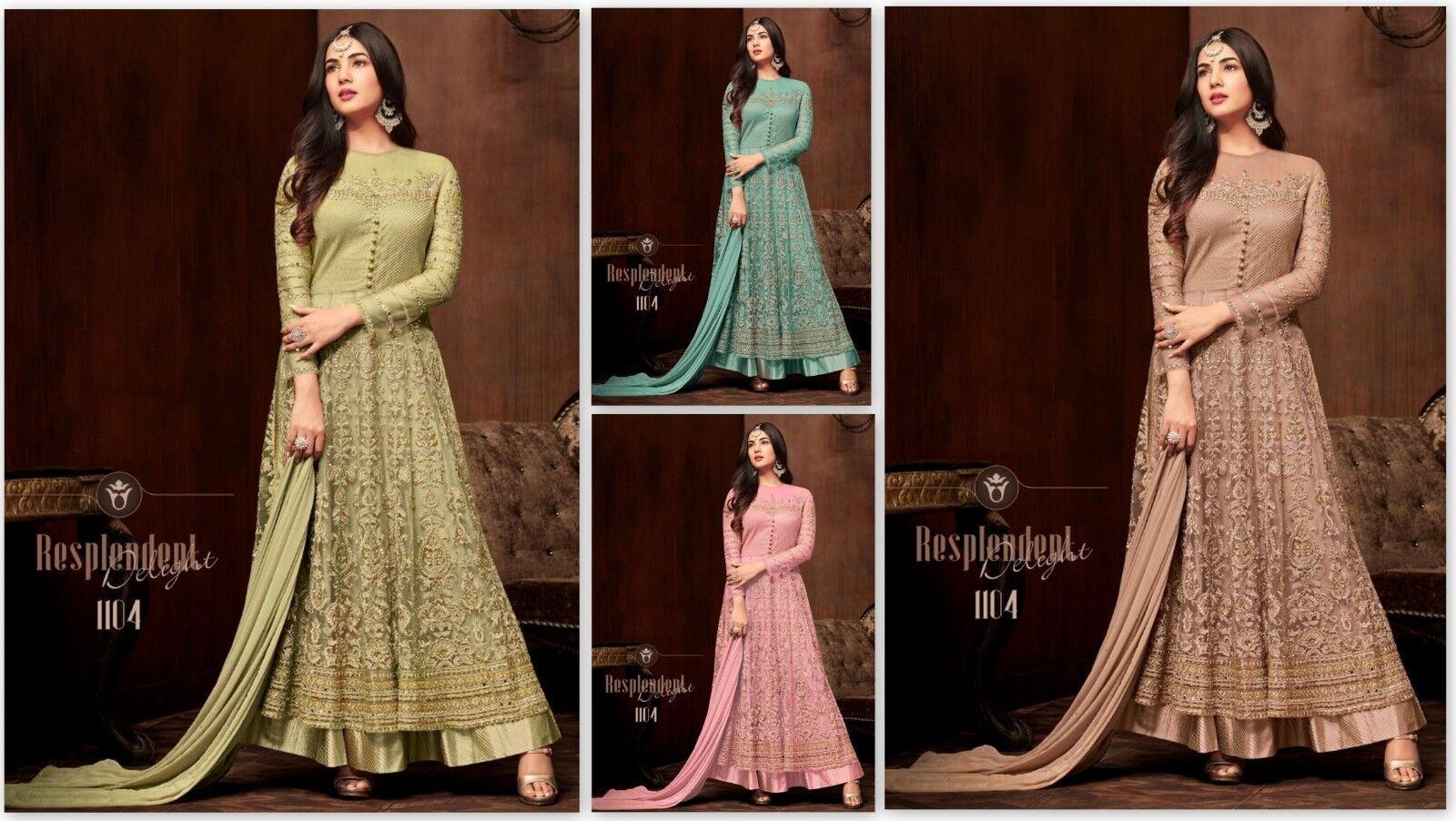 Indian Pakistani Anarkali Kameez Suit Designer Party Wear Wedding Salwar Dres FM