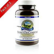 Natures Sunshine Stomach Comfort (60 chewable tabs) (Pack of 2)