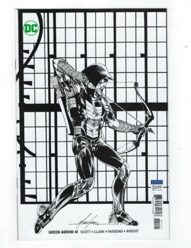 Green Arrow # 41 Variant Cover NM DC