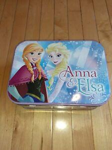 Disney-ELSA-amp-ANNA-LUNCHBOX-TIN-TOTE-Frozen