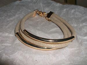 Professioneller Verkauf Armband Stoffreifen Mit Goldfarbigen Kunstoff Teilweise überzogen Goldfarben Schnelle Farbe