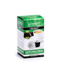 10 capsule Caffe' Choco Menta Cialdeitalia - compatibili NESPRESSO
