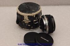 Olympus Zuiko 16mm F3.5 Lens Auto-Fisheye MC OM-System LIGHT OPTIC MARK