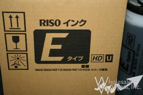 6 Riso Brand S-6870 S-7124 E Type HD Black Ink Risograph S-7124U RZ MZ S-4841