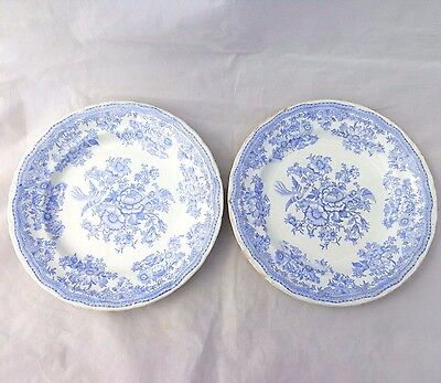 Pair Antique Blue \u0026 White Asiatic Pheasant Dinner Plates TG \u0026 F Booths 1883 1891  sc 1 st  eBay & Antique Ceramic Plates and Platters collection on eBay!
