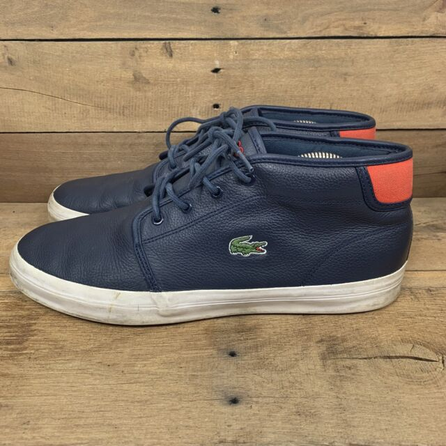 Lacoste Ampthill Chunky Navy Blue 7-30SPM0001DB4 Mens Shoes Size 11
