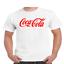 Coke-Coca-Cola-Logo-T-Shirt thumbnail 3