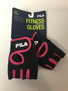 FILA Women/'s Fitness Workout Weight Lifting Bicycling Gloves Sm//Med Comfort Grip