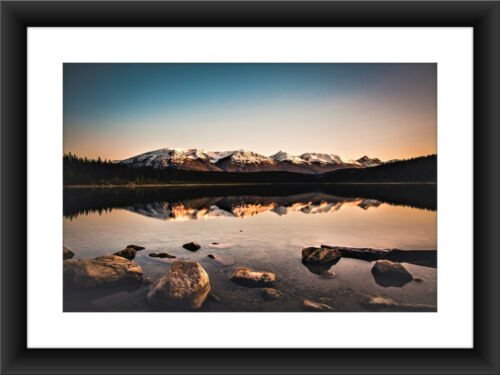 A4 283 Beautiful Landscape Mountain Lake Print Poster Art Photo Picture 13 A1+