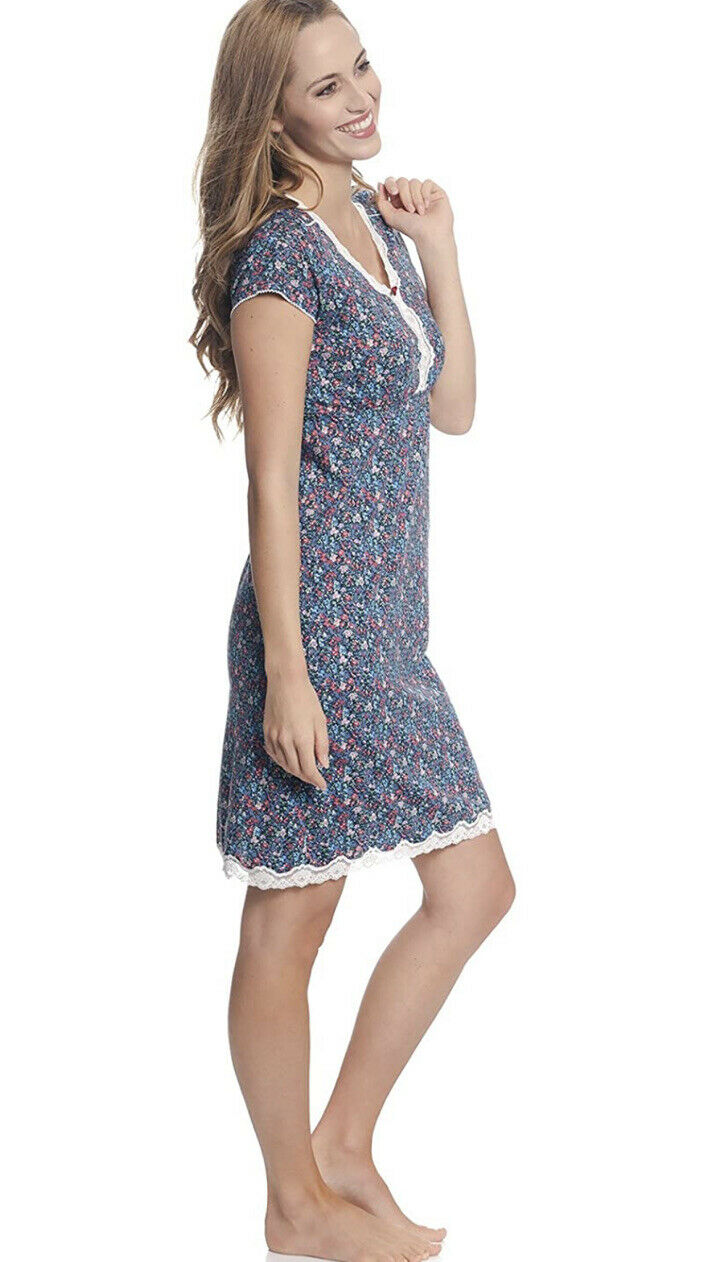 VIVE MARIA Damen Negligée Nachthemd Nightdress Flower Girl S M L XL