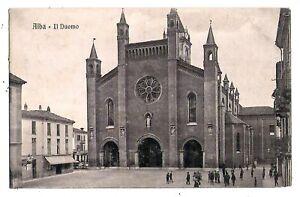 Alba  - viaggiata per Cuneo nel 1907 - 4041 E