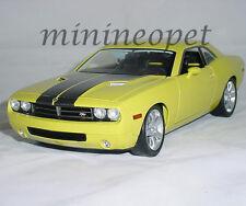 HIGHWAY 61 50627 2006 06 DODGE CHALLENGER HEMI CONCEPT 1/18 DIECAST CAR YELLOW