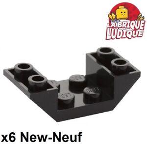 10x LEGO Light Bluish Gray Slope Inverted 45 4 x 2 Double #4871