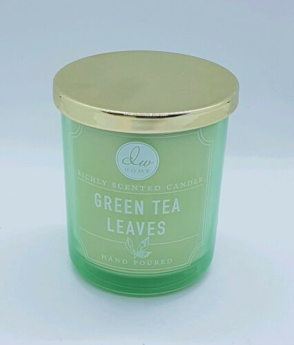 DW Home Green Tea Leaves Candle 3.8oz Jar