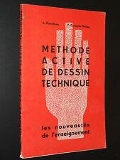 MÉTHODE ACTIVE DE DESSIN TECHNIQUE - 1964