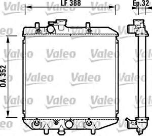 valeo engine cooling radiator fits daihatsu charade hatchback sedan Car Engine Cooling System Diagram image is loading valeo engine cooling radiator fits daihatsu charade hatchback