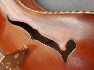 4-4-Violine-mit-Brandstempel-034-GUSETTO-034-sehr-schon-Geige-spielbar